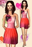Valentines Day Flower Dress