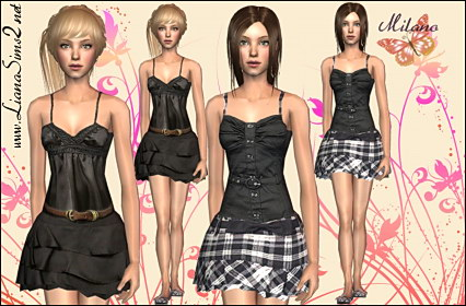 Liana Sims2 - Clothes for your Sims