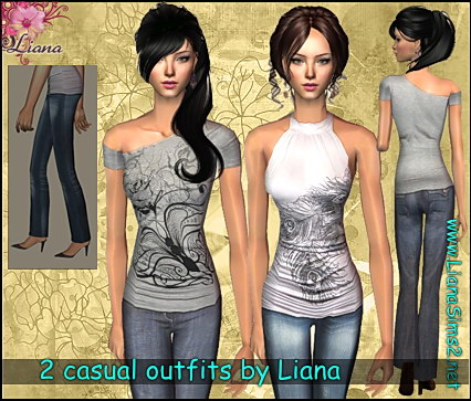 Liana Sims2 Clothes For Your Sims Free Downloads To
