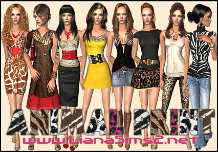 Liana Sims2 - Clothes for your Sims - free downloads to fashion up ...